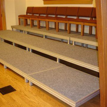 Church Tiered Seating