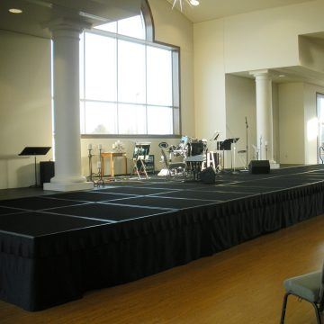 Large Church Stage