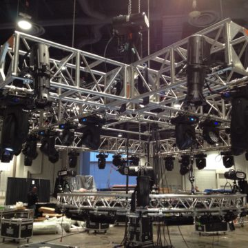 Drop Truss Lighting Rig