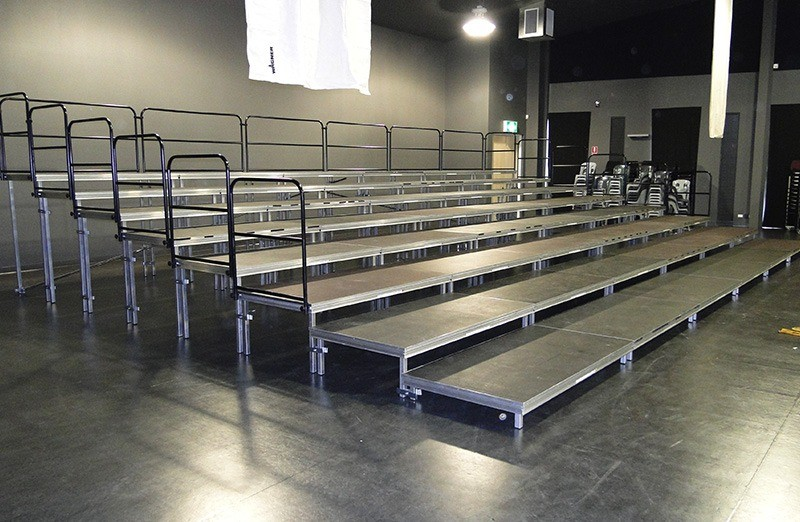 Tiered Stage Deck Tribune Seating