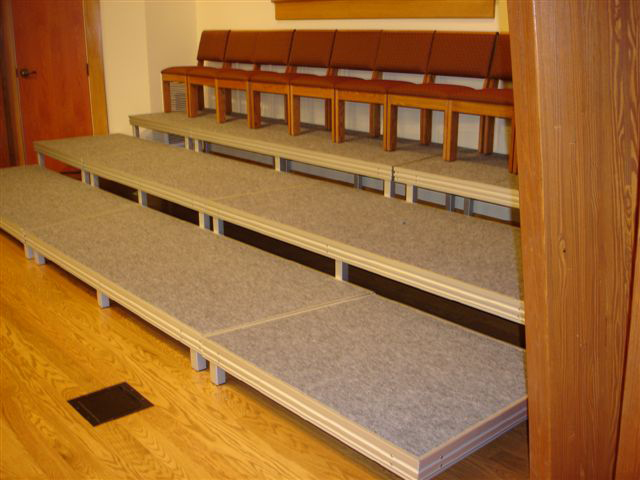 Carpet Finish Stage Deck
