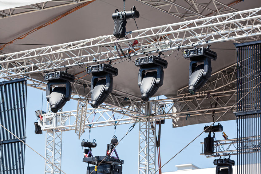 Truss Lighting Rig