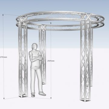 3D Cad Truss Design
