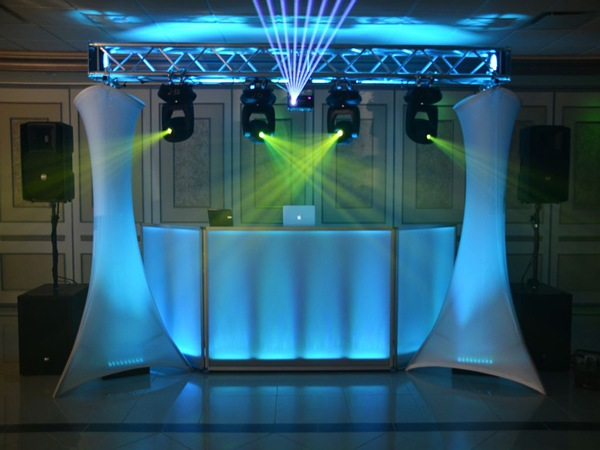Quad Truss DJ Stand
