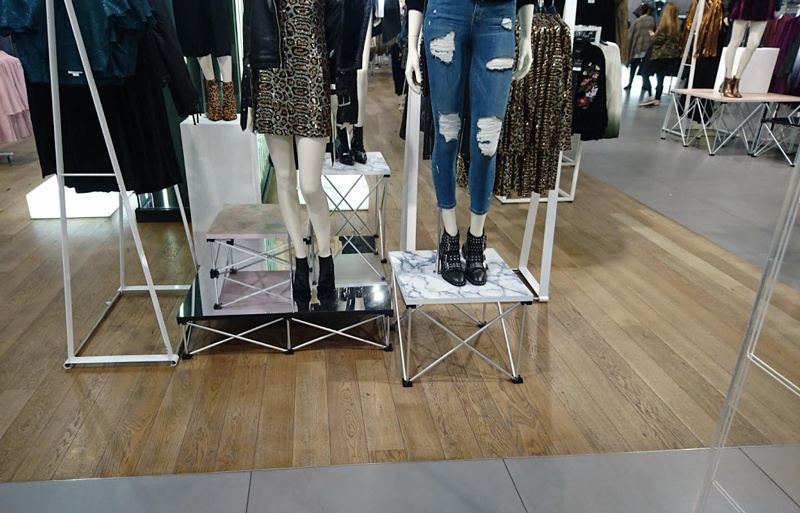TopShop Stage Deck Shop Display