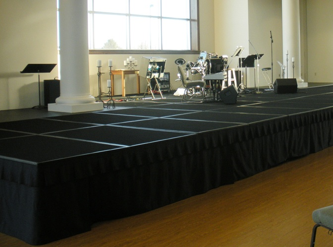 Church Portable Stage System