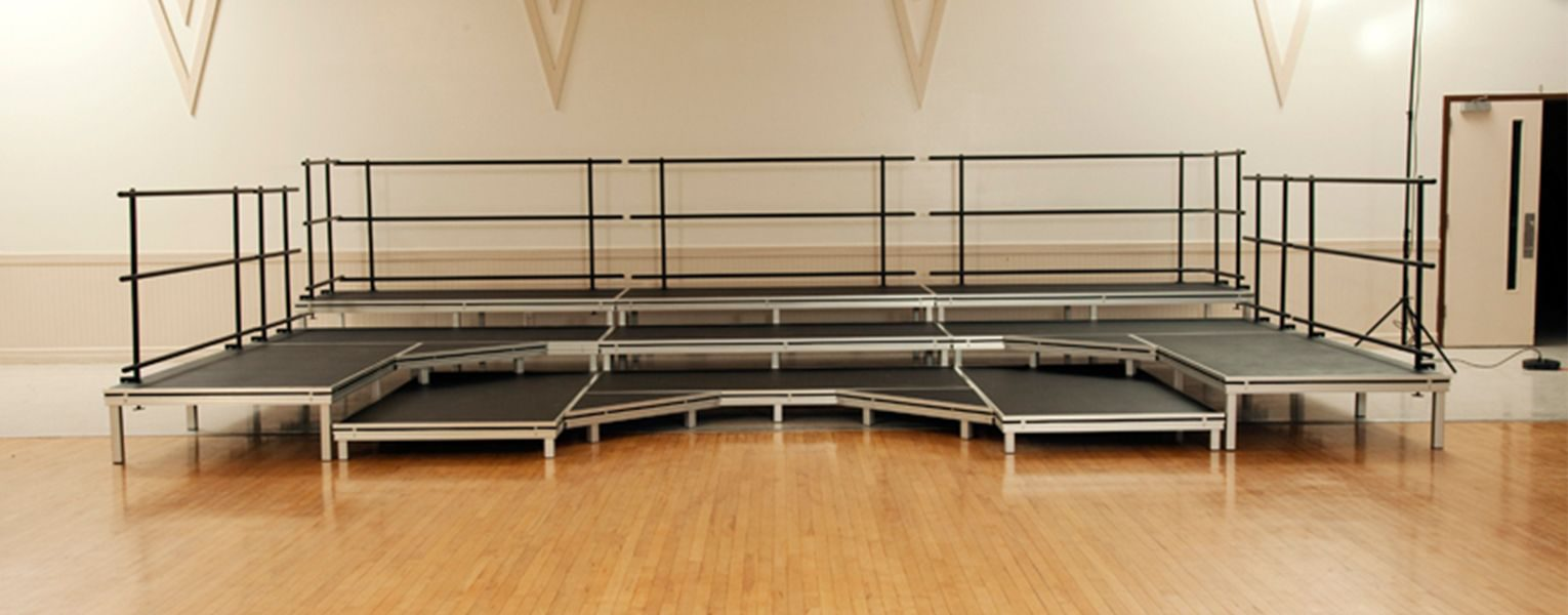 Stage Deck System for Schools