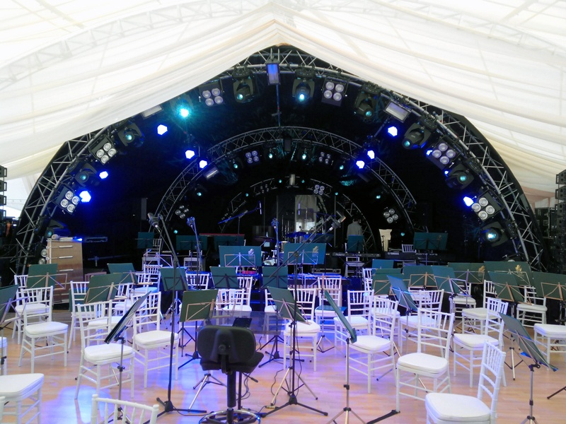 Alustage Truss Arch Stage Lighting