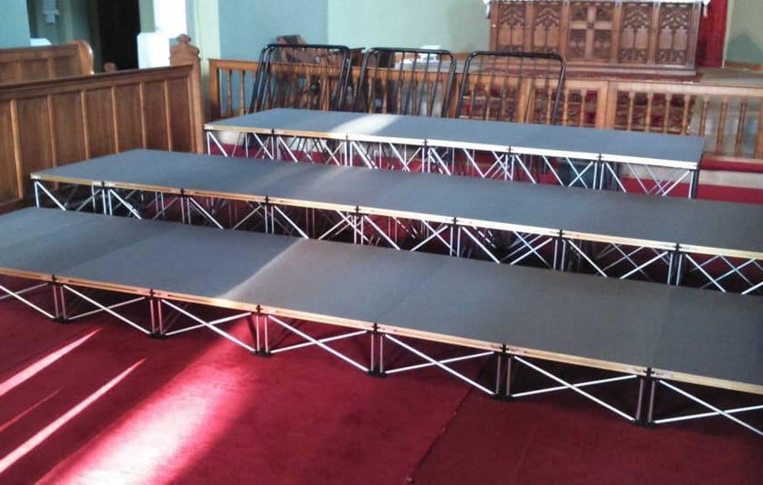 Small Choir Riser