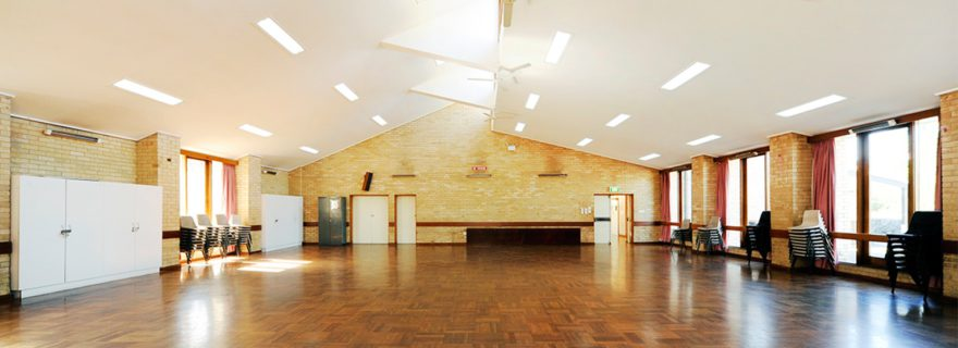 Community Hall Staging