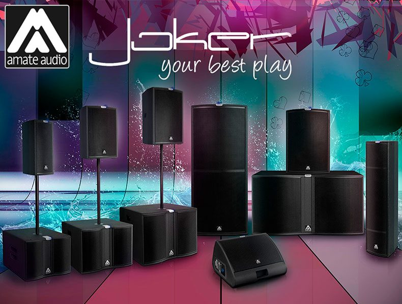 Amate Audio Joker Speaker Systems