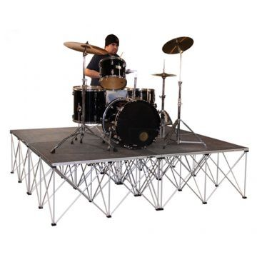 Portable Stage Drum Riser