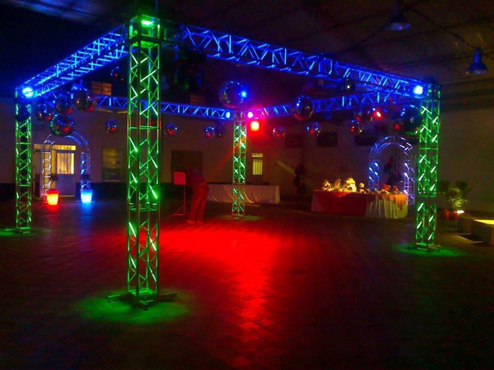 DJ Wedding Truss Dancefloor