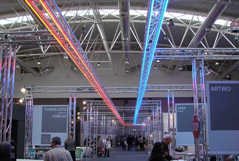 Exhibition Display Lighting : Exhibition stands truss stand design stage concepts