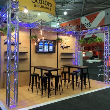 Small Truss Show Booth