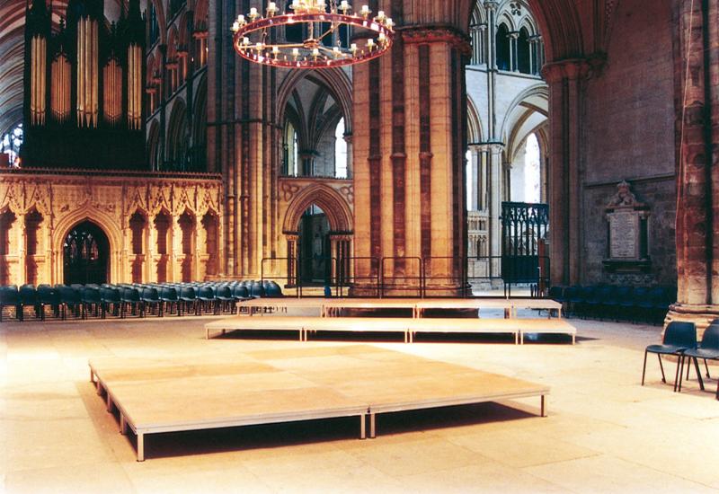 Church Stage Installation