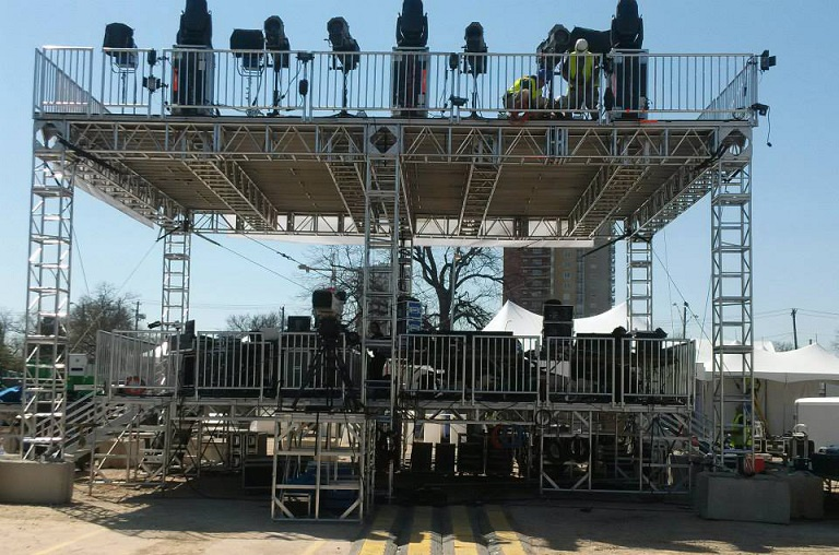 UK Stage Installs & Truss Installs