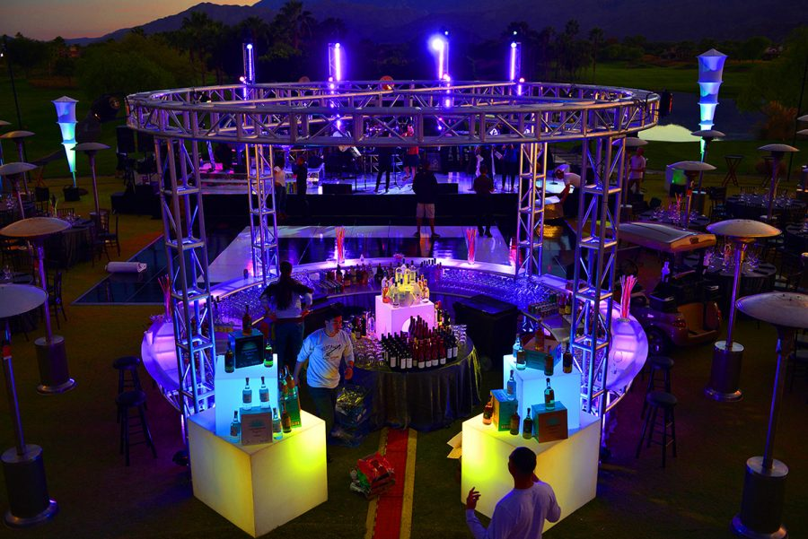 Stage Truss Drinks Bar Trussing System