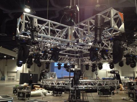 Heavy Duty Truss Drop Truss Lighting Truss