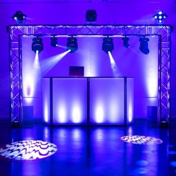 Wedding dj Lighting